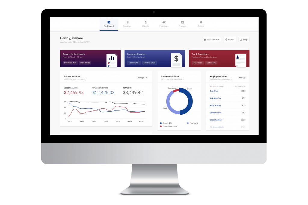 Accounting Web Application
