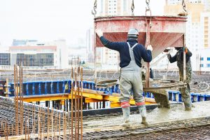 concreting construction works